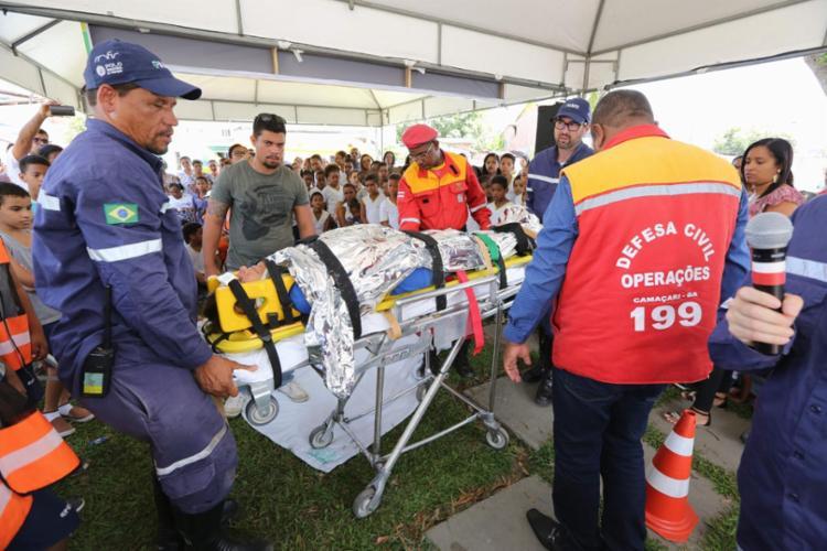 O treinamento é um complemento do Plano de Emergência para a Comunidade (PEC) do Polo de Camaçari - Foto: Divulgação