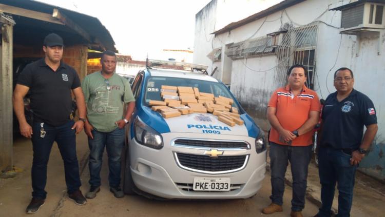 O proprietário do imóvel está sendo procurado pela polícia - Foto: Divulgação   SSP-BA