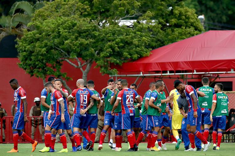 Nesta temporada, o Esquadrão venceu 30 jogos, perdeu 21 e empatou 19 - Foto: Felipe Oliveira | EC Bahia