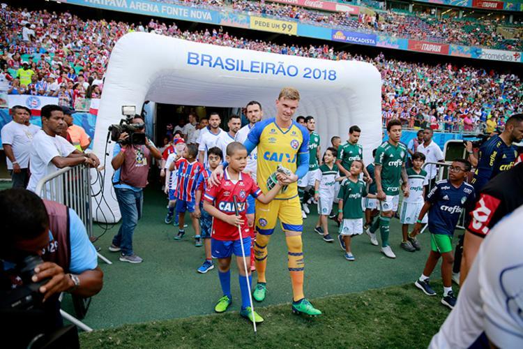 Em 2018, o Tricolor já realizou outras ações homenageando diversos grupos - Foto: Felipe Oliveira | EC Bahia