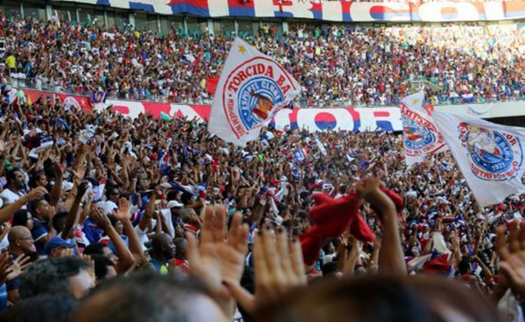 Tricolor contará com o apoio da torcida para buscar o triunfo em casa - Foto: Reprodução | EC Bahia