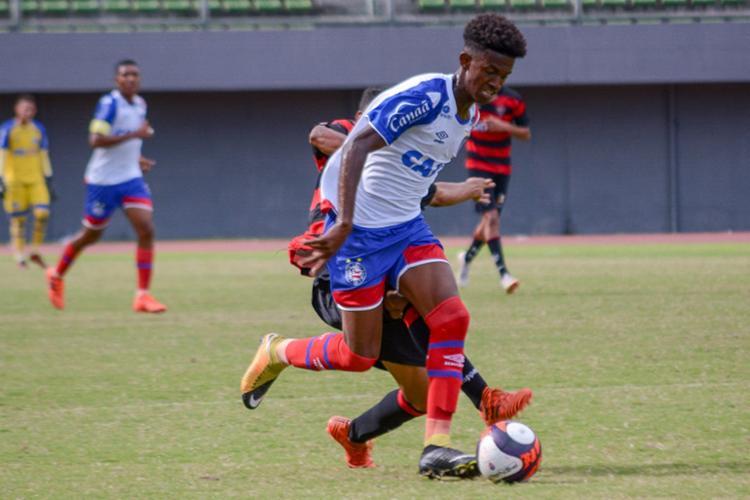 É a segunda vez que Douglas é convocado para jogar pelo Brasil - Foto: Marcelo Malaquias | EC Bahia