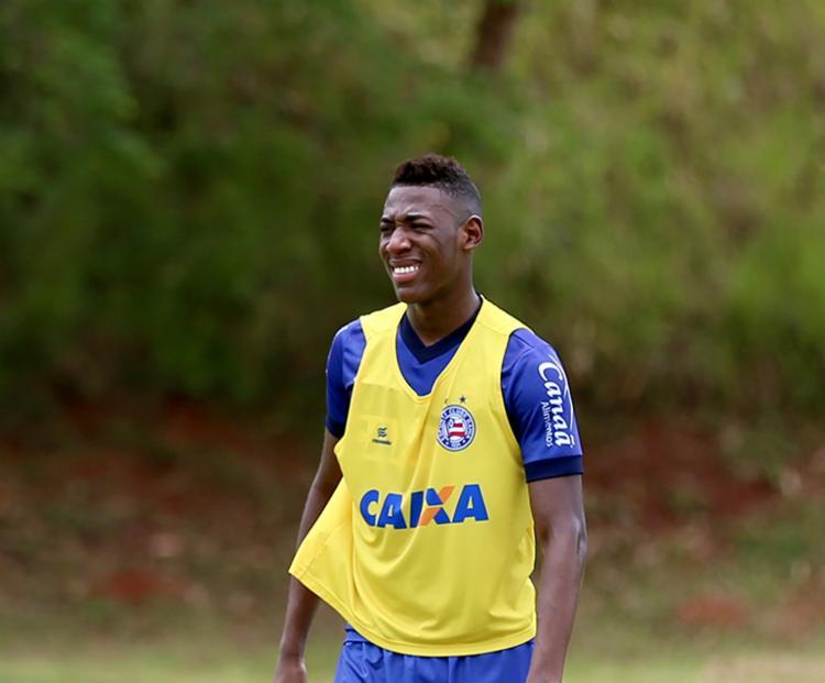 Léo é o quarto jogador do Tricolor que mais atuou na temporada - Foto: Felipe Oliveira | EC Bahia