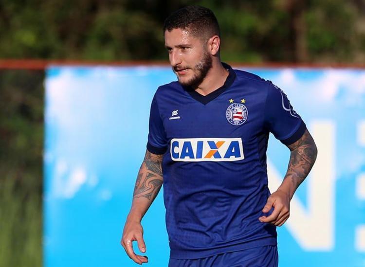 O meia jogou 125 partidas nas suas temporadas no Bahia - Foto: Felipe Oliveira   EC Bahia