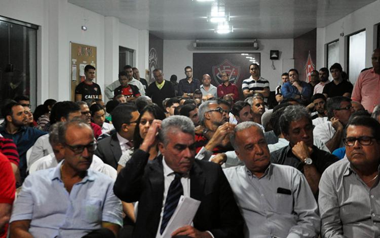De acordo com uma fonte que preferiu não se identificar, a reunião foi frustante - Foto: Maurícia da Matta   EC Vitória