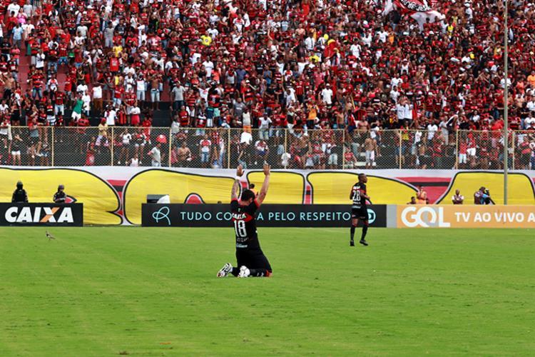 O Rubro-Negro espera contar com o apoio da torcida em casa para escapar da degola - Foto: Mauricia da Matta   EC Vitória