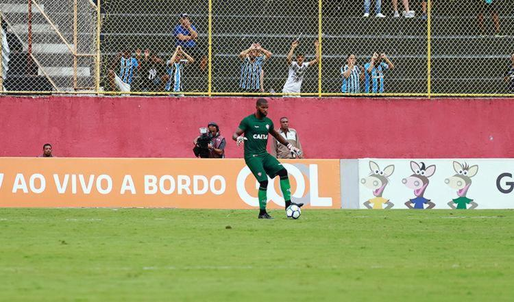 De acordo com o empresário do goleiro, Gustavo Carmo, o Rubro-Negro irá exercer o direito de compra - Foto: Maurícia da Matta | EC Vitória