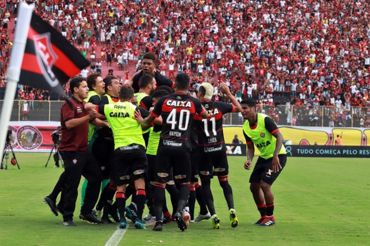 Com a confirmação do rebaixamento, alguns jogadores já foram liberados pelo clube - Foto: Maurícia da Matta | EC Vitória