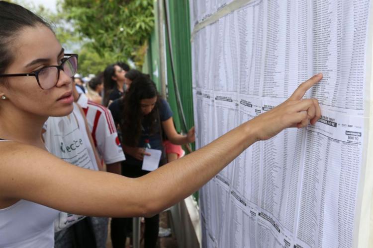 Mais de 5,5 milhões de inscritos farão provas em 1,7 mil cidades - Foto: Valter Campanato l Agência Brasil