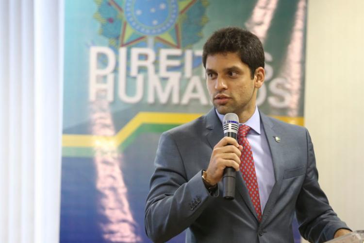 Engels Muniz é secretário-executivo do Ministério dos Direitos Humanos (MDH) - Foto: Valter Campanato | Agência Brasil