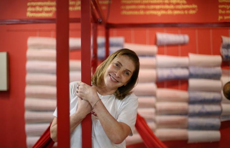 Adriana Falcão escreveu para séries de TV como A Grande Família e Mister Brau - Foto: Adilton Venegeroles | Ag. A TARDE