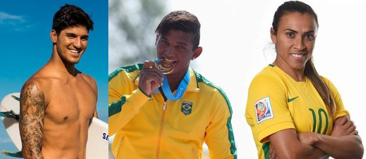 O COB anunciou também o nome dos 51 melhores atletas em cada modalidade esportiva - Foto: Reprodução