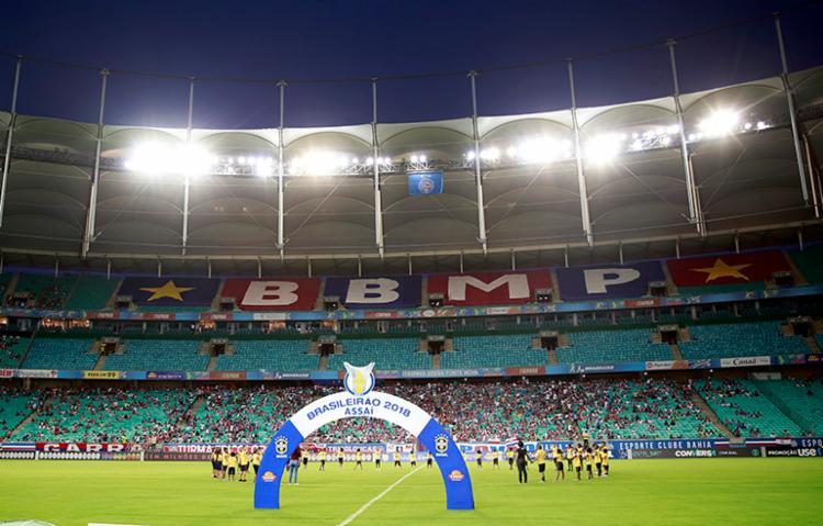 O Bahia jogou duas partidas em Salvador: Chapé e Vitória, e agora enfrentará o Ceará também na capital baiana - Foto: Felipe Oliveira   EC Bahia