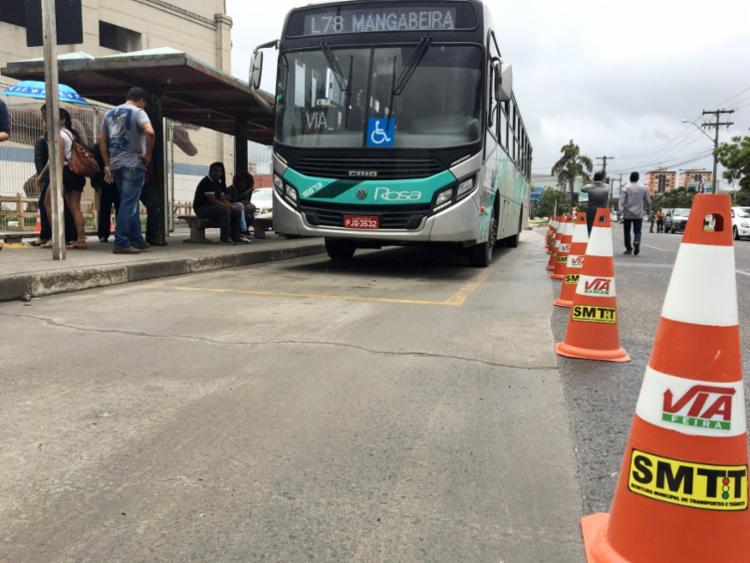 Os ônibus que prestarão atendimento circularão pelo Terminal Central - Foto: Divulgação   SMTT