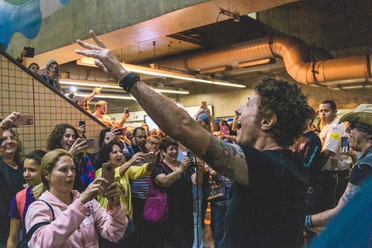 A banda Capital Inicial se apresentou na estação Paraíso - Foto: Luiz Sontachi   Divulgação   Rock in Rio