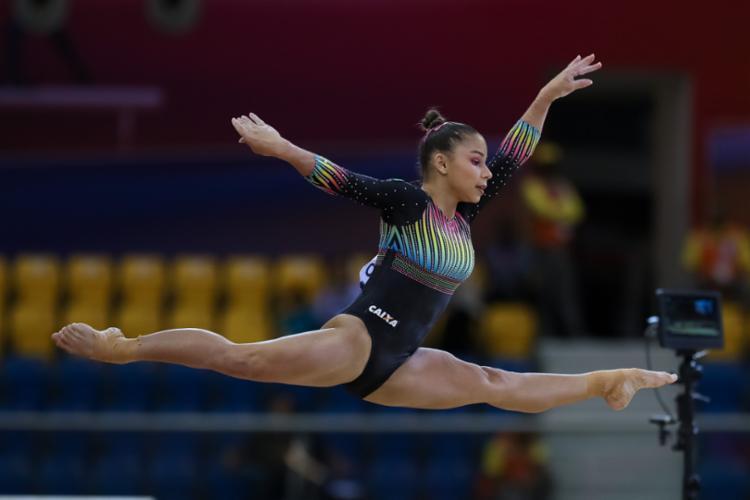 Atleta brasileira terminou o mundial de ginástica em quinto lugar - Foto: Divulgação | CBG