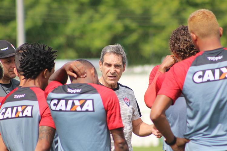 O Vitória soma 33 pontos e ocupa a 19.ª e penúltima posição, justamente só na frente do próprio Paraná - Foto: Moysés Suzart | EC Vitória