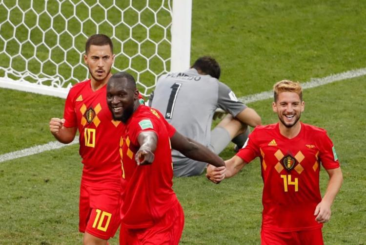 Os belgas terminaram o Mundial na terceira colocação - Foto: Odd Andersen | AFP
