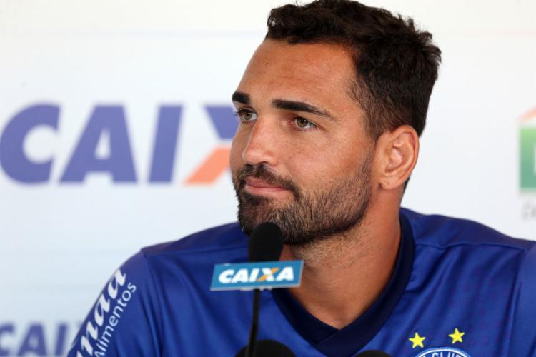O centroavante tem oito gols no Brasileirão e não balança as redes desde 29 de setembro - Foto: Felipe Oliveira l EC Bahia