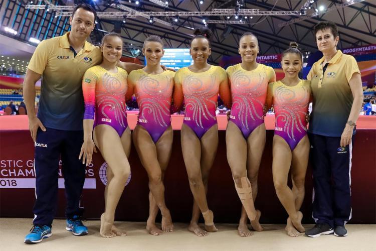 Brasil encerrou participação no Mundial, superou metas e fez história - Foto: Divulgação l CGB