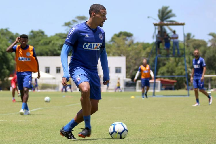 O Tricolor quer se distanciar de vez na zona de rebaixamento - Foto: Felipe Oliveira l EC Bahia