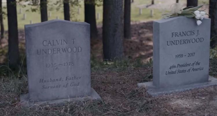 Túmulo foi instalado para que os fãs possam se despedir do personagem quando o seriado chegar ao fim - Foto: Reprodução | Netflix