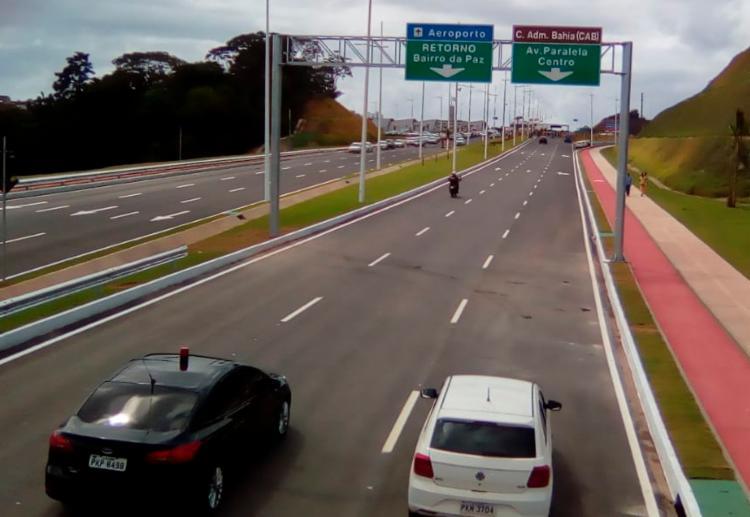 Trecho liga as avenidas Paralela e Aliomar Baleeiro - Foto: Joá Souza | Ag. A TARDE