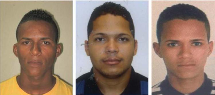 Os irmãos Alan, Luiz e Carlos são procurados pelo duplo homicídio e pela tentativa