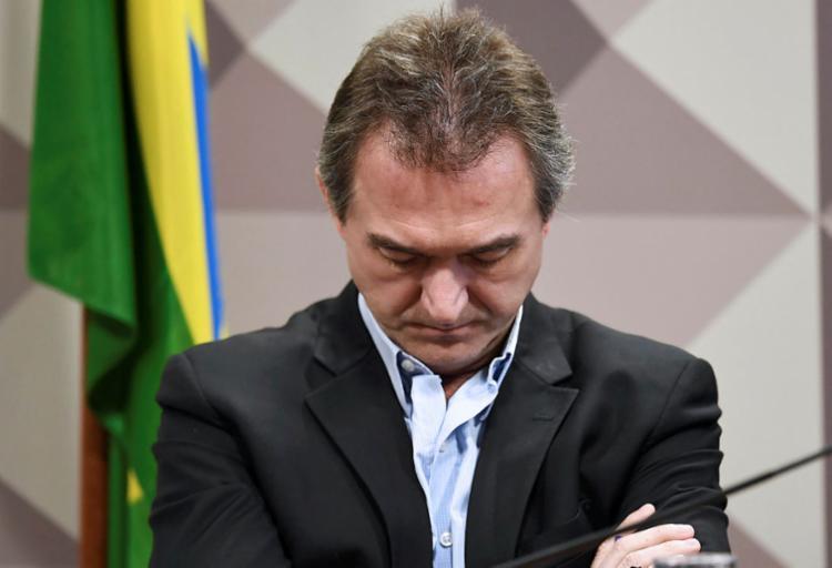 Dono da JBS foi levado à carceragem da PF, na zona Oeste de São Paulo - Foto: Evaristo Sá | AFP