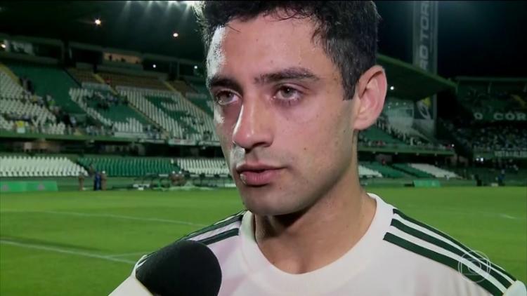 Daniel, de 24 anos, era jogador do São Paulo e estava emprestado ao São Bento - Foto: Reprodução | TV Globo