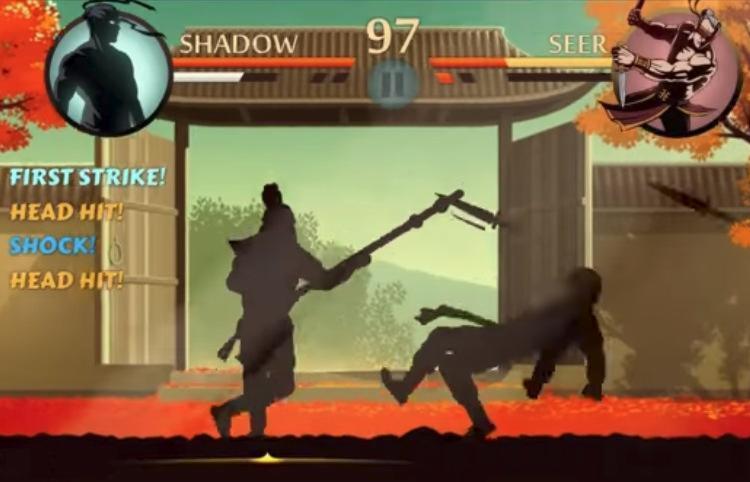 Shadow Fight 2 é um jogo de luta de artes marciais - Foto: Divulgação