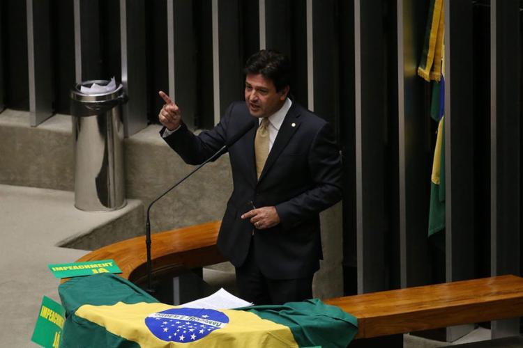 Luiz Henrique Mandetta tem 53 anos e é deputado federal pelo DEM-MS - Foto: Valter Campanato l Agência Brasil