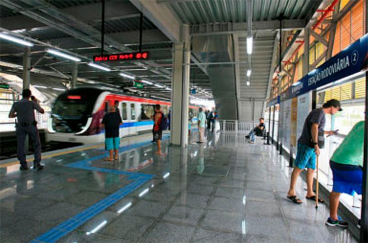 A operação na Linha 2 não foi afetada - Foto: Edilson Lima | Ag. A TARDE