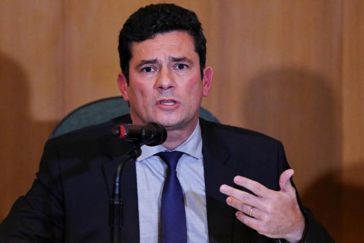 Em 1ª entrevista, juiz indicou propostas que pretende levar à pasta da Justiça - Foto: Heuler Andrey l AFP