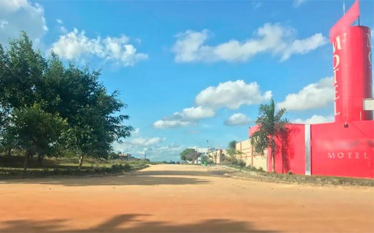 Crime aconteceu próximo a um motel em Eunápolis - Foto: Reprodução   Radar 64