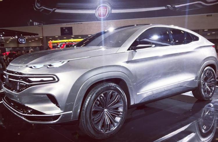 O SUV Fastback tem jeitão de conceito e traz um design arrojado com carroceria cupê - Foto: Marco Antônio Jr. | Ag. A TARDE
