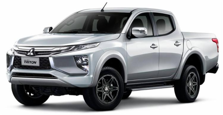 Mitsubishi divulgou hoje um teaser onde é revelada a nova dianteira da L200 2019 - Foto: Divulgação