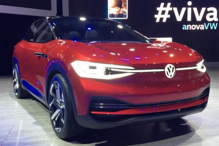Volkswagen apresentou o ID Crozz um crossover, cupê e elétrico - Foto: Marco Antônio Jr. | Ag. A TARDE