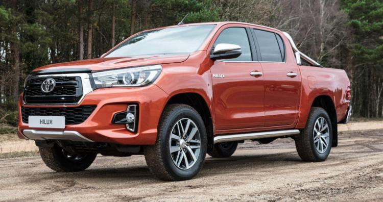 A Toyota Hilux é a picape mais vendida, com 4.027 unidades emplacadas - Foto: Divulgação