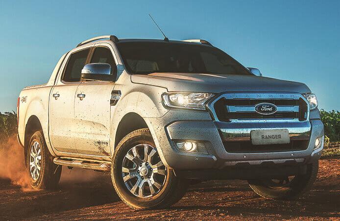 Ford Ranger, com 2.094 unidades