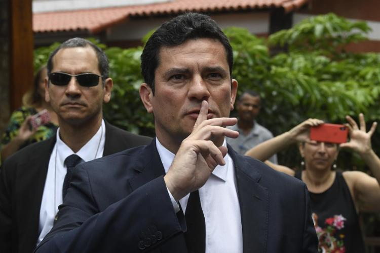 Em coletiva, presidente eleito afirma que juiz terá autonomia total - Foto: Mauro Pimentel l AFP