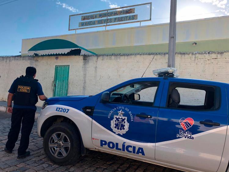 Objetivo da ação era combater o tráfico de drogas no entorno de escolas - Foto: Divulgação | SSP-BA