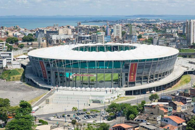 Interdição nas imediações da Arena fonte Nova começa a partir das 17h deste sábado - Foto: Divulgação