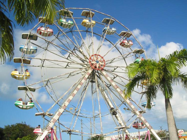 Roda gigante é uma das 15 atrações oferecidas pelo parque - Foto: Divulgação