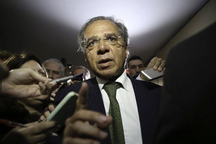 Os indicados pelo futuro ministro da Economia são Pedro Guimarães, Rubem Novaes e Carlos Von Doellinger - Foto: Fabio Rodrigues Pozzebom l Agência Brasil