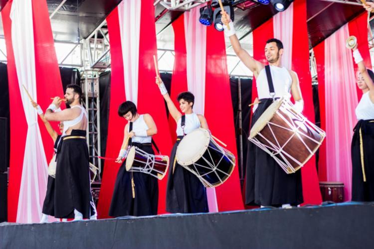 Apresentação conta a história da imigração japonesa por meio da música - Foto: Divulgação