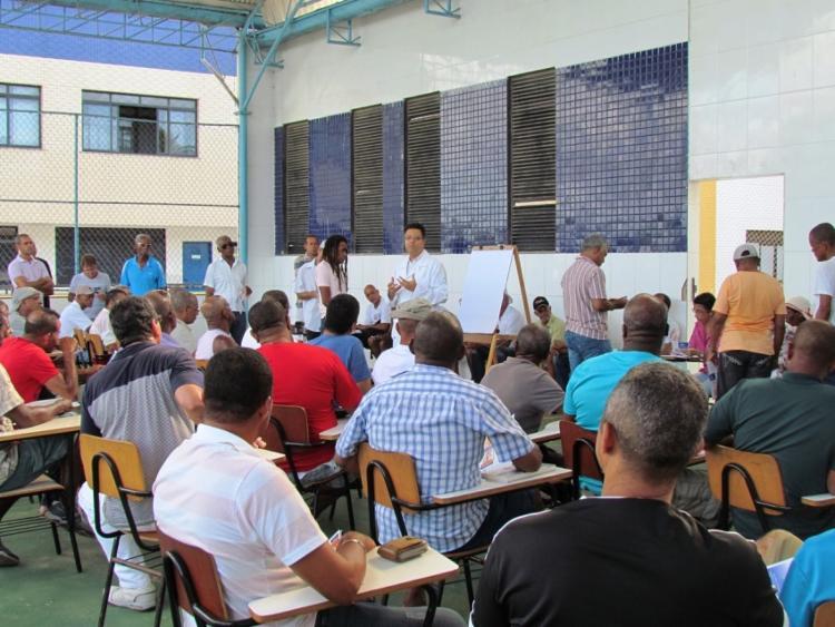 A ação pretende atender 240 homens - Foto: Divulgação