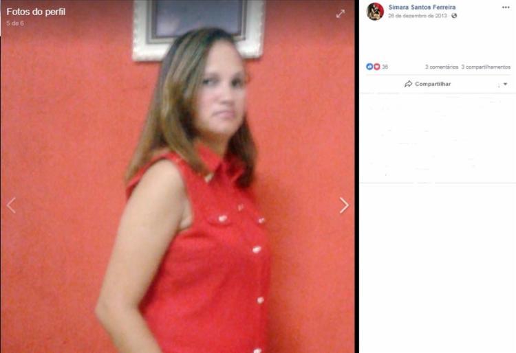 Simara Ferreira dos Santos foi encontrada morta na casa onde morava - Foto: Reprodução | Redes Sociais