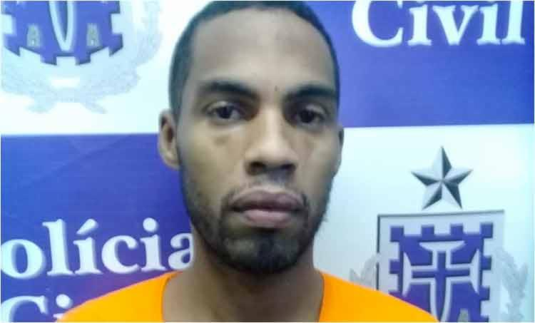 Átila foi preso na quarta-feira, 14, por policias 1ª Delegacia de Homicídios Atlântico (DH/Atlântico) - Foto: Divulgação | SSP-BA