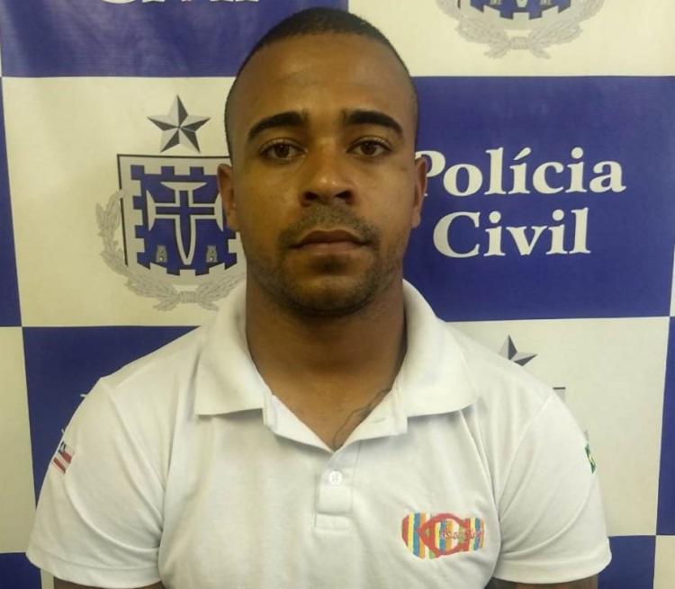 Tiago Jesus Bispo estava foragido do sistema prisional - Foto: Divulgação | Ascom- PC